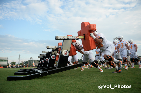 Its Football Time! #OLP #VolsCamp http://t.co/KT57xAo70L
