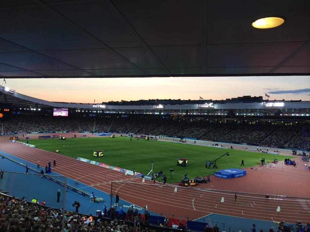 #Hampden has roared and rocked as an athletics venue - we have loved it. One more night to go. See you tomorrow. http://t.co/f8NY1uu9rx