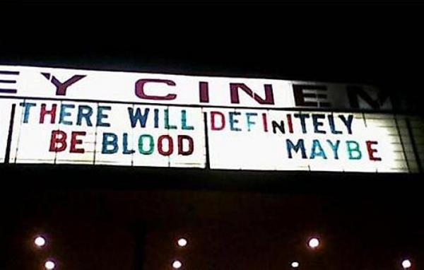 There will definitely be blood...maybe... http://t.co/6A21G7dEK7