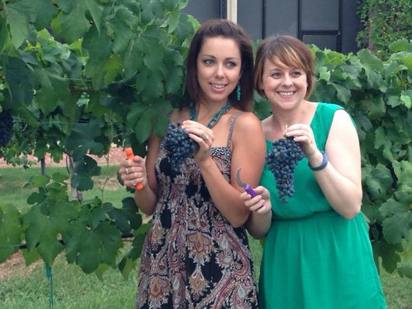 Keeping the vineyards hot at @messina_hof: @3dietsonedinner @atxgastronomist http://t.co/ErKPl6SKQm