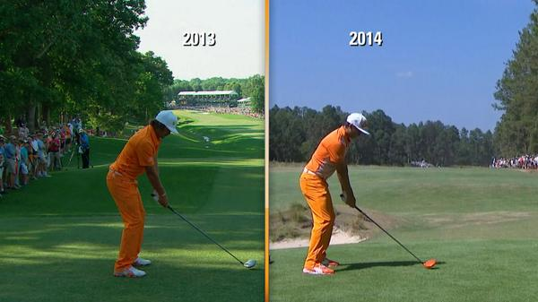 After 7 months of work with Butch Harmon, see Rickie Fowler's swing before and after: http://t.co/wwnFP7ODCg http://t.co/AhawNqXdt7