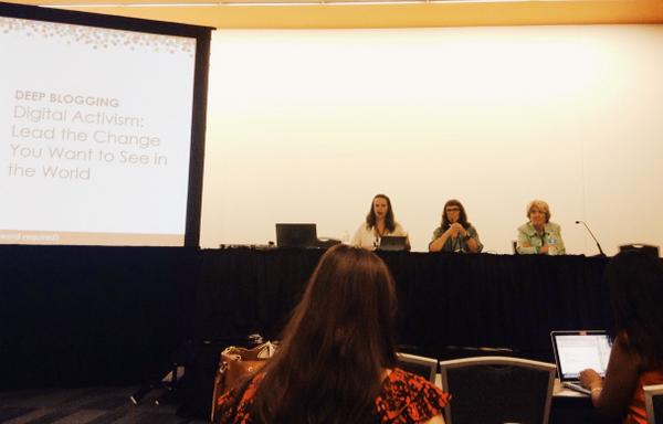 Check out FUTURES president and founder diving deep into digital activism with @kanter and @Mediamum. #blogher14 http://t.co/Shit1nl1Od