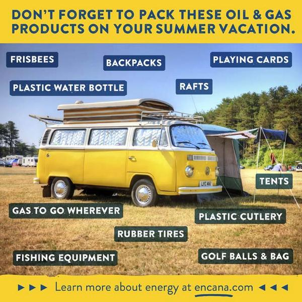 Don't forget to pack these oil & gas products on your summer trip! #Oil #Gas #Energy #Summer #Trip #Vacation #Fun http://t.co/HIum8jVZ3R