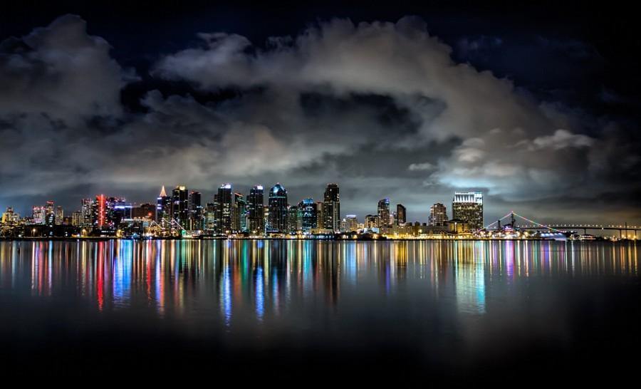 Twitter / ZaibatsuPlanet: San Diego at Night by jshelton999 ...