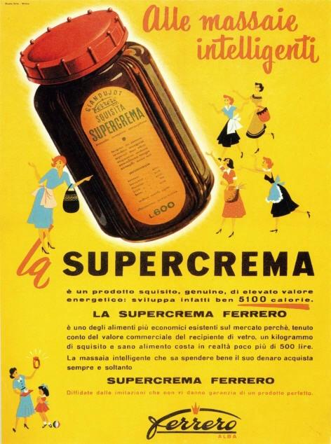 La Supercrema was renamed Nutella in 1964. http://t.co/iLkyUHJvBs