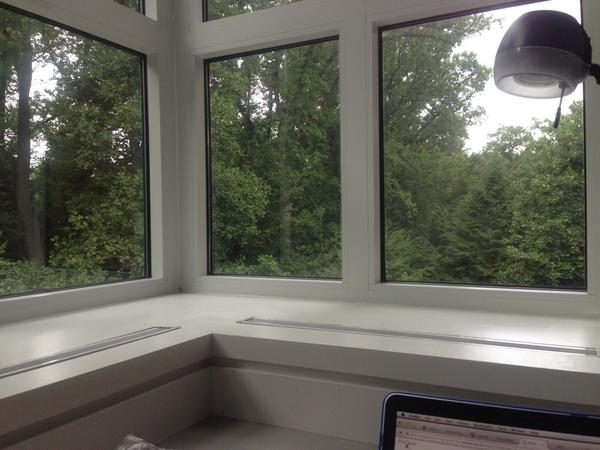 #doingdah14 My view from Dumbarton Oaks during the last few days: http://t.co/0jBmqcQKcH