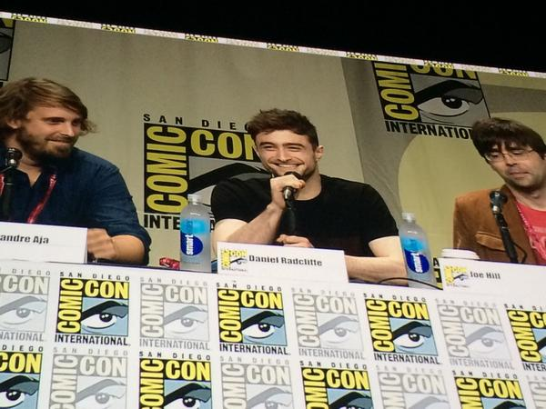 Daniel Radcliffe at Comic Con. Was just serenaded with Happy Birthday. #SDCC http://t.co/pLMna9NlhO