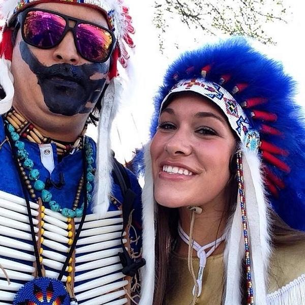 """The Last American Indian on Earth Selfie"""