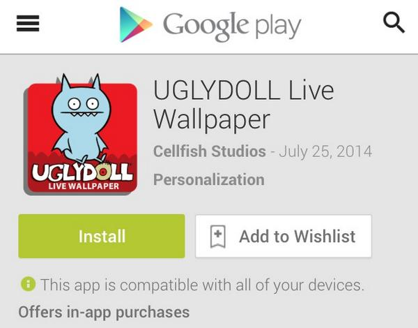 Uglydolls On Twitter Uglydoll Live Wallpaper Launches Now On