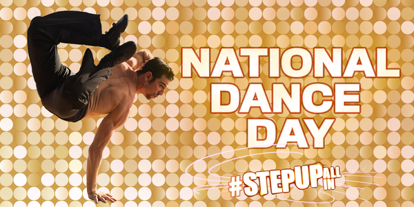 Happy #NationalDanceDay! Celebrate the holiday with the biggest dance movie of the Summer! #StepUpALLin opens 8/8! http://t.co/LyODgxkluo