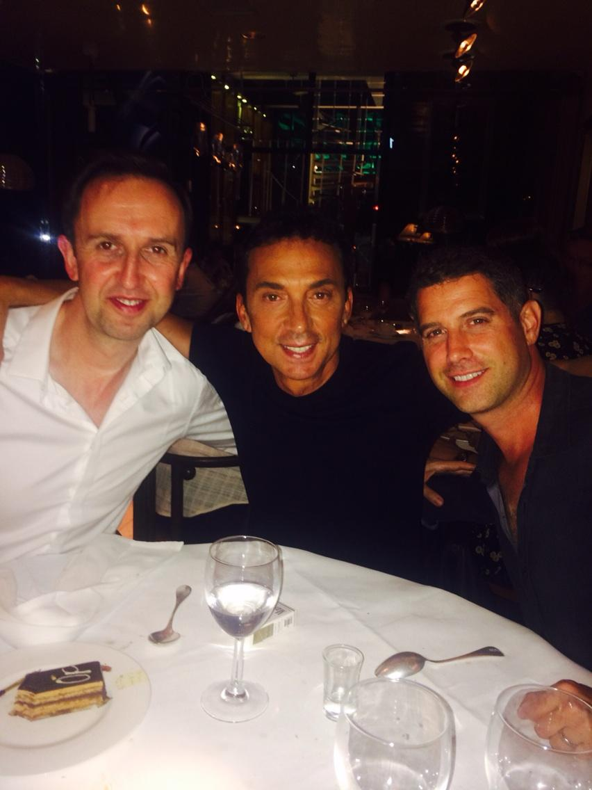My gorgeous  @BrunoTonioli ,Ivan and Seb #fun #birthday http://t.co/K98ZL7B1Yi