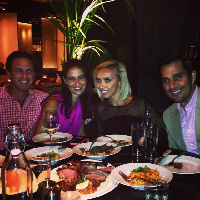 Dinner with good friends. @RPMItalianChi is going off tonight!!!!  @davidwelles @billrancic #laurenwelles http://t.co/RoFLLf9ZAS