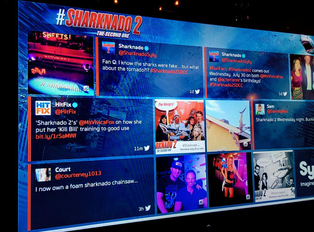 Meta #Sharknado2 party tweet is meta. http://t.co/KggF8JZ7gD