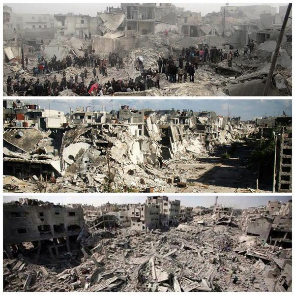 Homs, Aleppo, Gaza https://t.co/aGCUdDlElD
