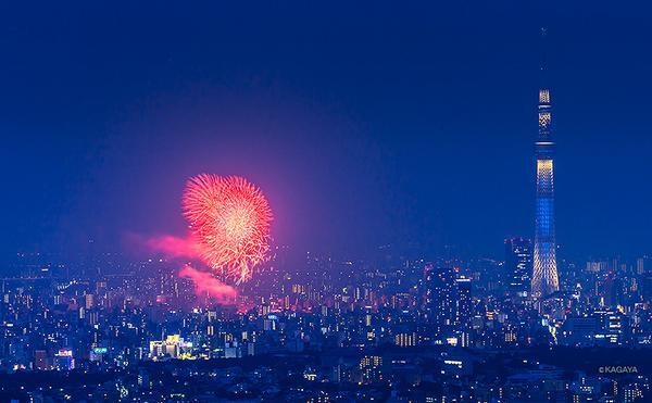 先ほど撮影した隅田川の花火です。 pic.twitter.com/a7pIurmFGv