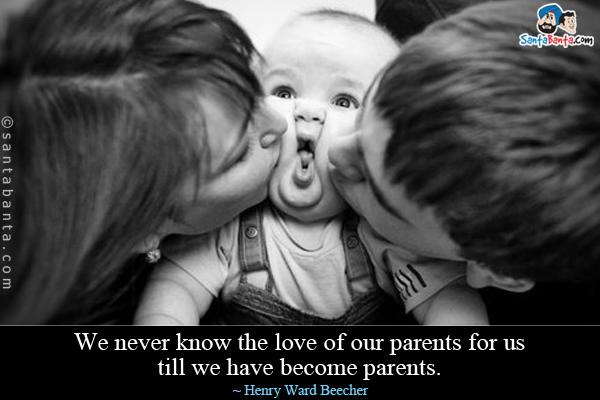 Wright Thurston On Twitter We Never Know The Love Of Our Parents