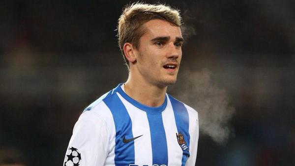 Atletico are close to signing Sociedad winger Antoine Griezmann for €25m [AS]