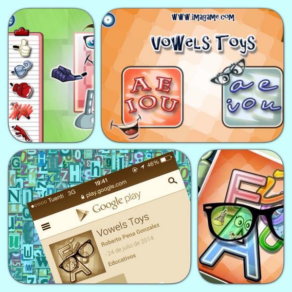 Edugame Vowels Toys
