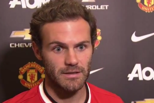 Manchester Uniteds Juan Mata: Louis van Gaal is a good man, and a great manager [Video]