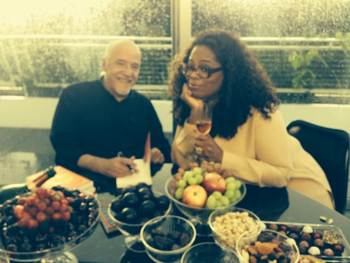 .@Pharrell in Switzerland with @paulocoelho who sends you  his gratitude and is signing a book to YOU. http://t.co/PYNTXcB8gX