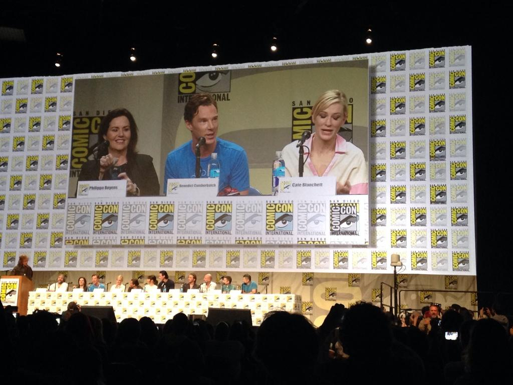 Twitter / wbpictures: Benedict Cumberbatch and Cate ...