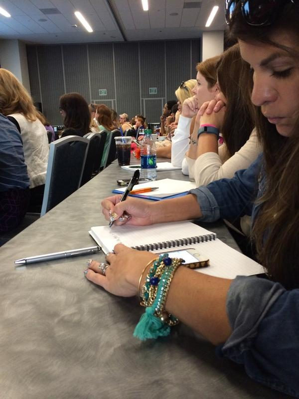 Taking notes @PegFitzpatrick is telling the inside scope standing room only in the back #BlogHer14 #SMO http://t.co/8abBBW1jFG
