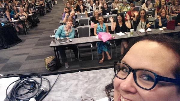 #selfie from my session at #BlogHer14 Such an amazing audience! Go be fab everyone!! http://t.co/ANpfNitjwr