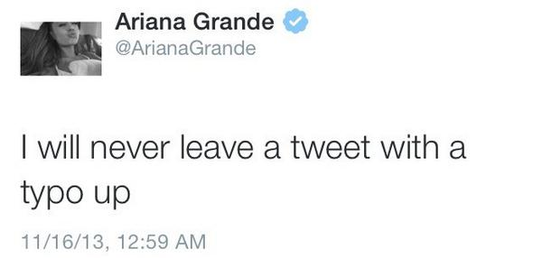Ariana Grande Funny Tweets