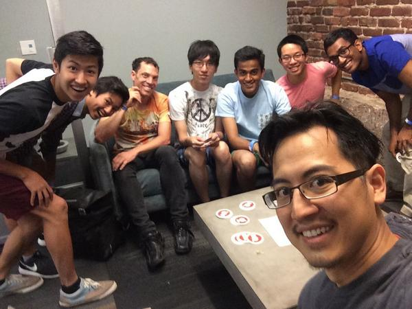 Gracenote office hours at #OutsideHacks! Look for @cweichen if you need help with our API! http://t.co/w7U09nn7Vo