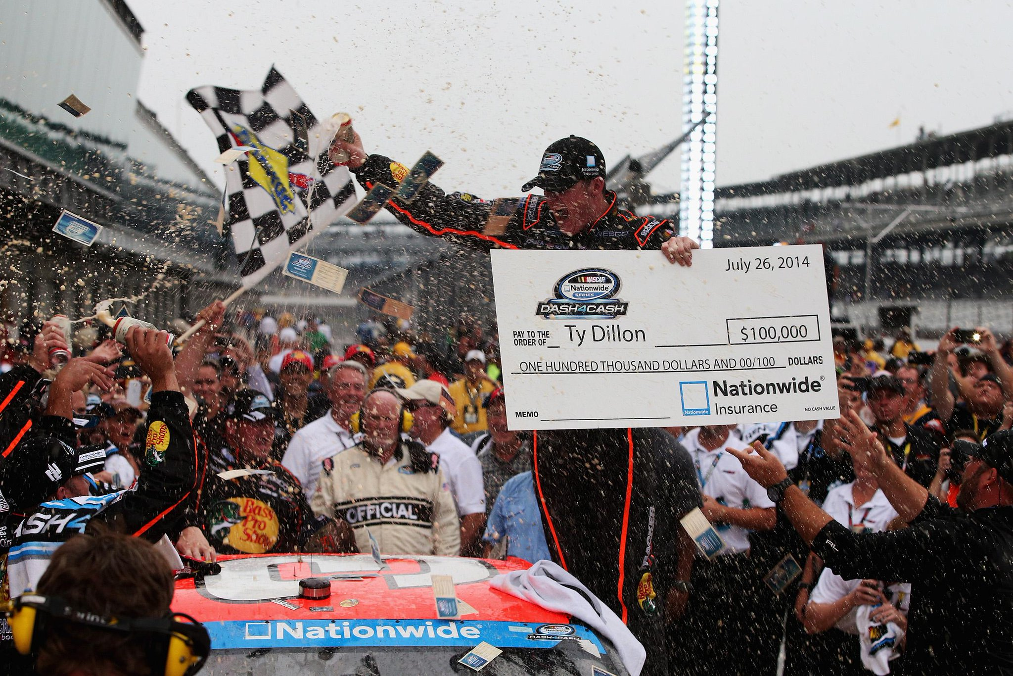 Twitter / NASCAR_NNS: Show me the money! First career ...