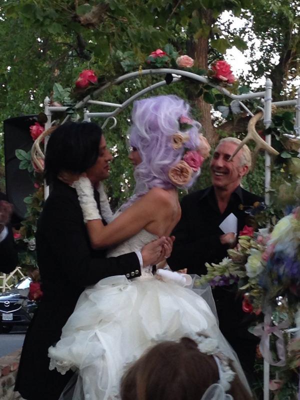 Dee Snider On Twitter Had Honor Of Officiating At Twiggy Ramirez Laney Chantals Wedding Tonight Amazing
