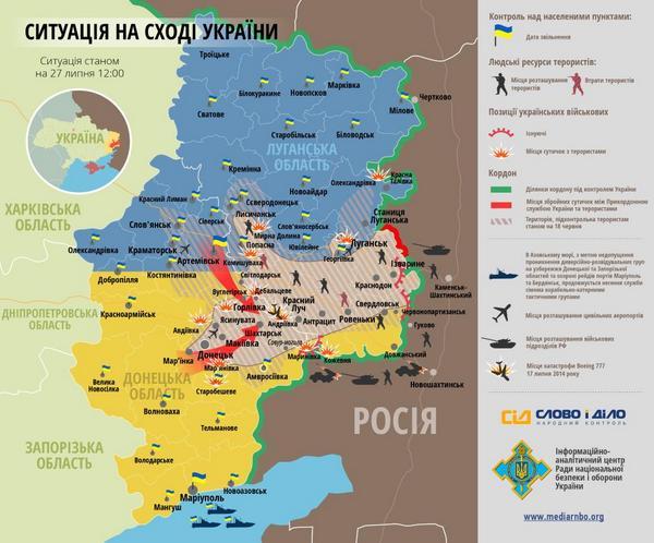 В двух районах Донецка слышны залпы из тяжелых орудий, - горсовет - Цензор.НЕТ 7085