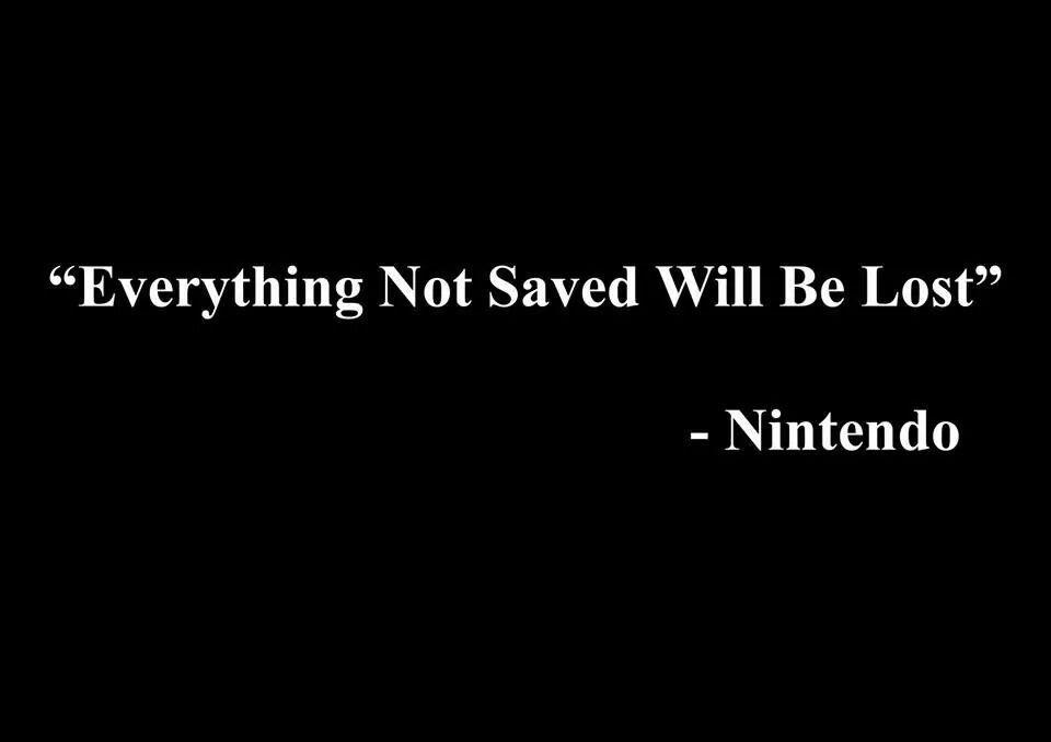 Twitter / JoyAndLife: Great wisdom from Nintendo. ...