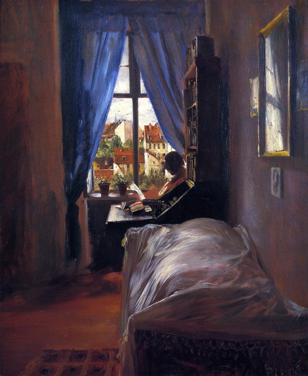 The Artist's Bedroom in Ritterstrasse