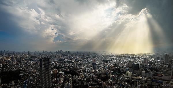 本日の東京、雨上がりのキラキラ。 pic.twitter.com/VI78nSCOss