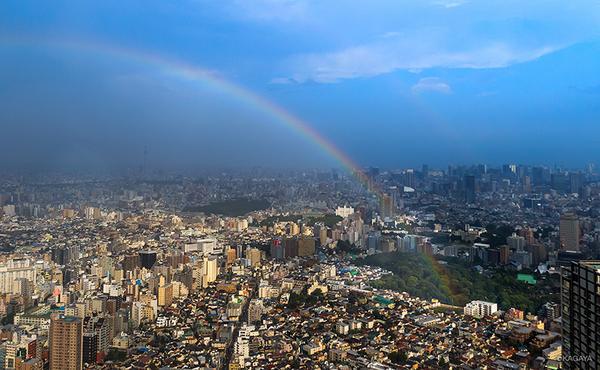 本日の東京、虹も現れました。 pic.twitter.com/dDkWljpbse