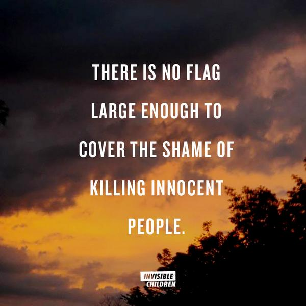 """There is no flag large enough to cover the shame of killing innocent people"" -- Howard Zinn http://t.co/OmWFJtPoSa"