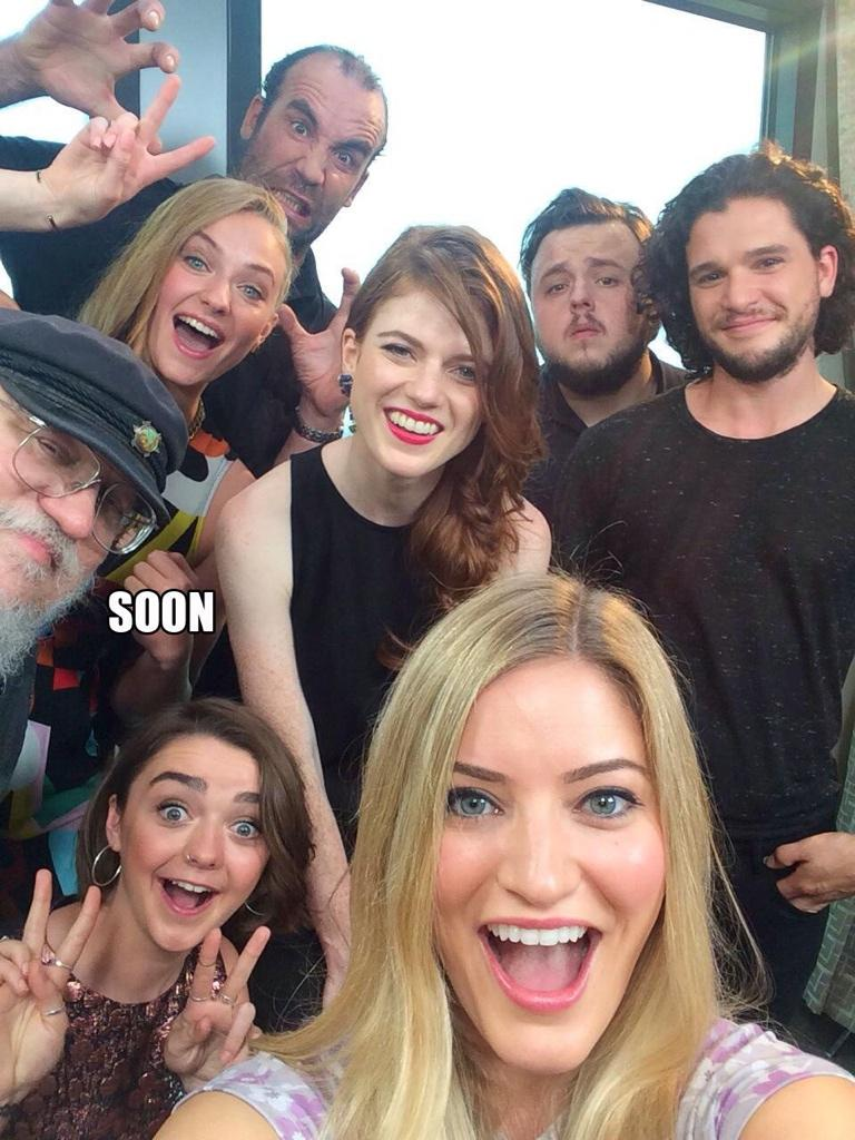 Twitter / GoT_Tyrion: When George RR Martin photobombs ...