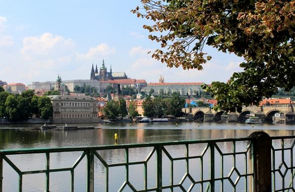Beautiful shot of Prague Castle