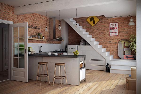 Ideaonline Dapur Seperti Ini Sangat Praktis Sekali Masak Sajikan Impianku
