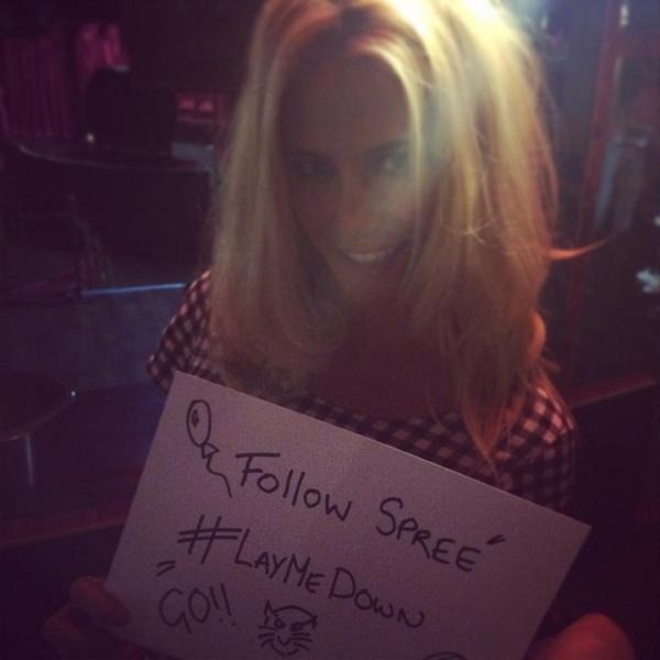Fancy a follow spree? I'll follow as many peeps who RT this as I can in 10 mins! GO #LayMeDown po.st/LayMeDowniT