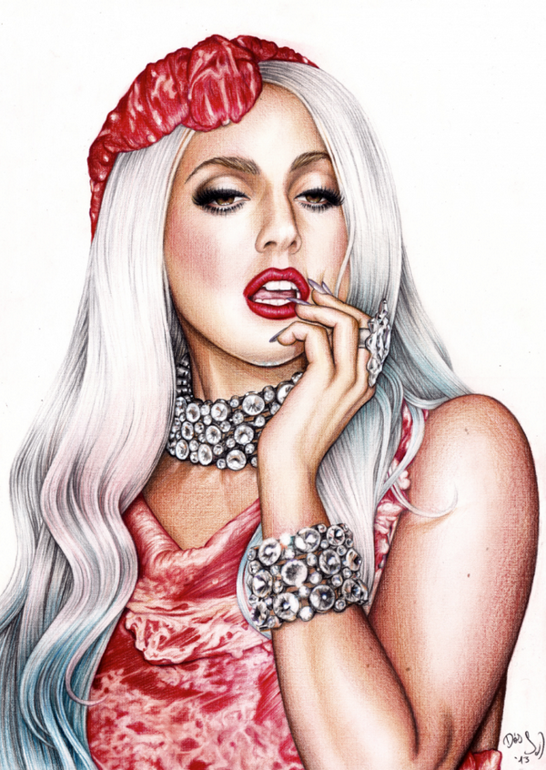 There are so many talented artists in this fanbase! I mean, just look at this! #MTVHottest Lady Gaga http://t.co/4Tw1D05lNw