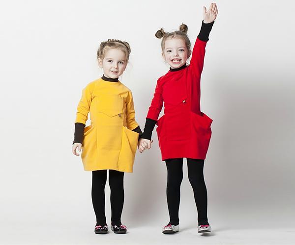 Children's wear - Magazine cover