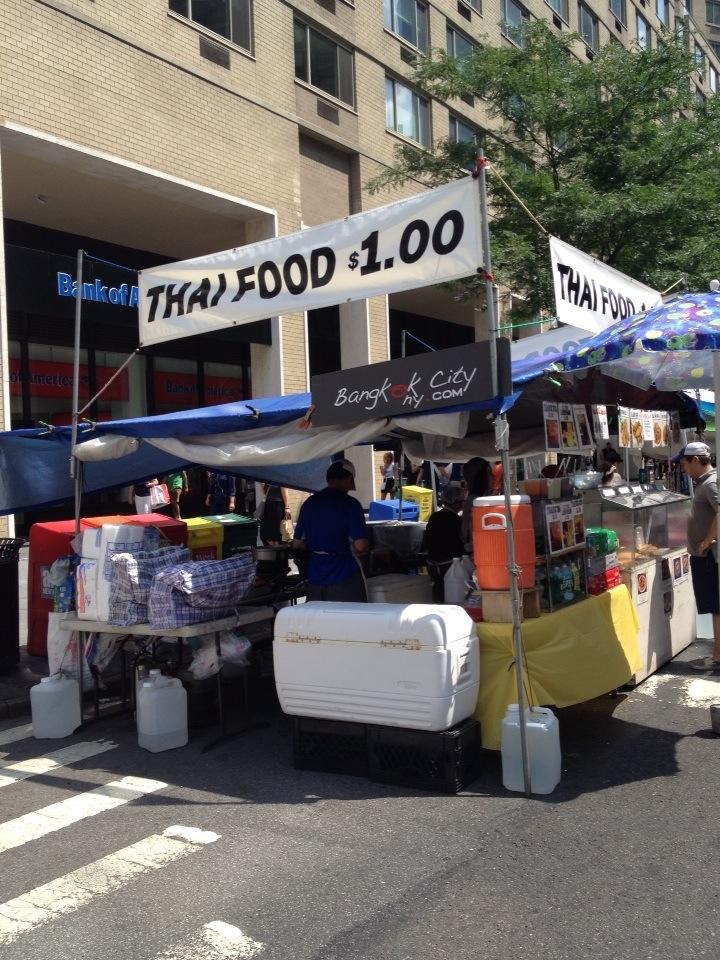 Twitter / NotFromBoston: Thai Food $1 - yep. Street ...