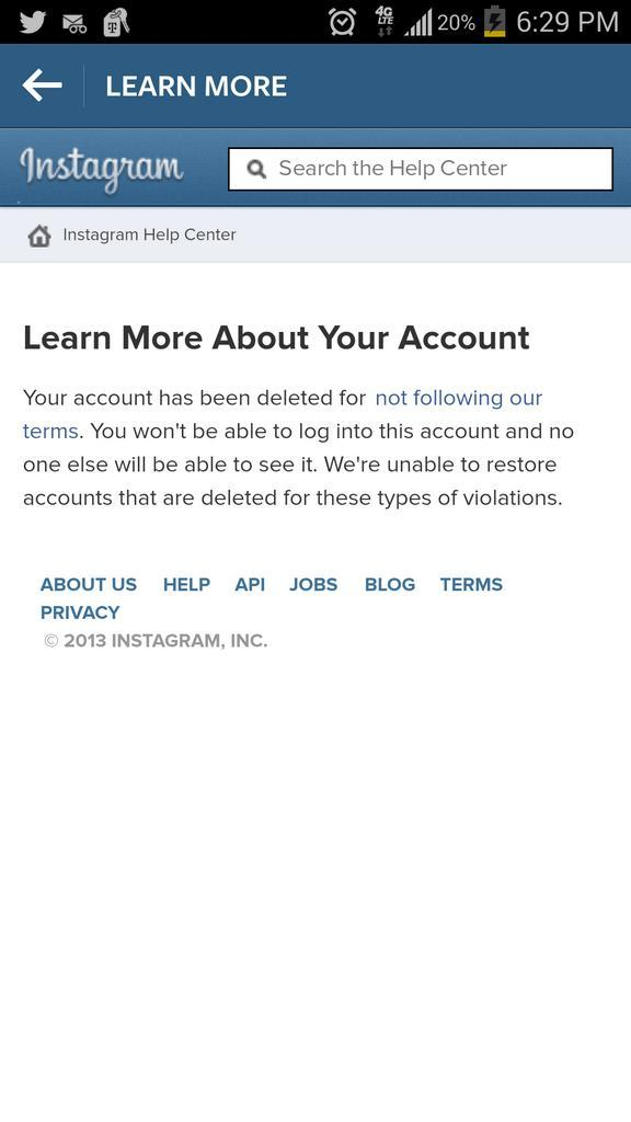 Jeremy Del Rio On Twitter At Instagram Disabled My Account For