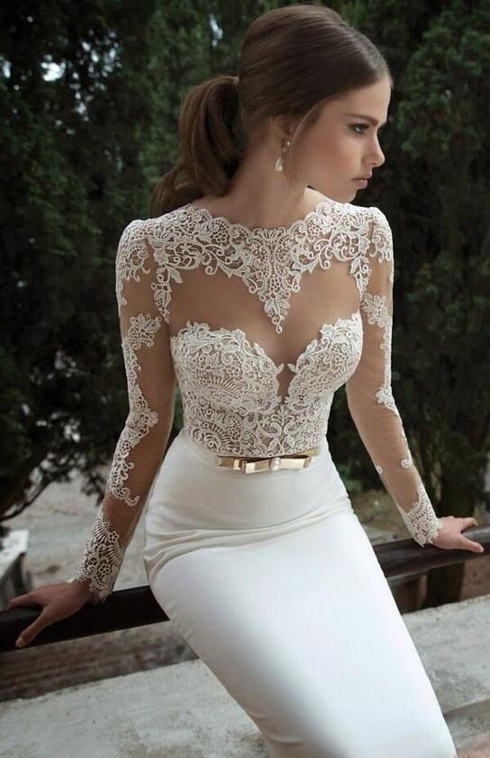 Wedding Porn™ on Twitter: Sexy lace wedding dress 😍 http