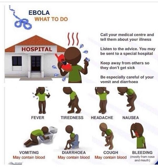 Ebola: What to do. #PSA #EbolaOutbreak http://t.co/3UasC5BmRE