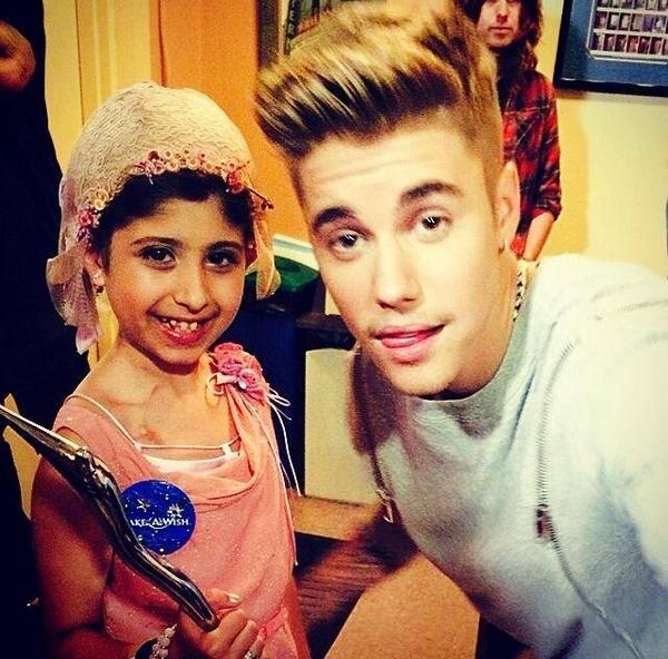 We had such an amazing night with @celebritygrace and @justinbieber at the #YHA @MakeAWish #ChampOfCharity http://t.co/SXF24y8NrC