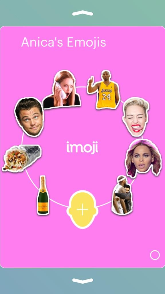 Get Ready To Geek Out! New App @imojiapp let's you get creative!