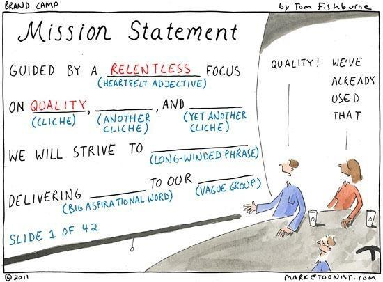 The problem with mission statements http://t.co/keo23C9wyH